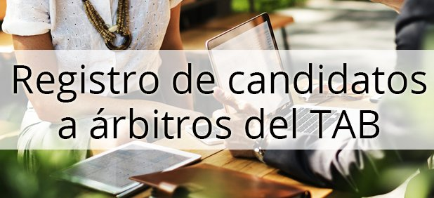 Registro de candidatos